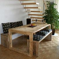 bauholz tische kantholzrahmen timber classics. Black Bedroom Furniture Sets. Home Design Ideas