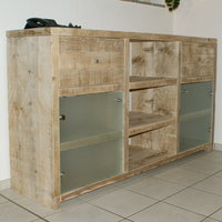 Bauholz-Sideboards von timber classics